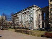 Московский район, площадь Чернышевского, дом 5. многоквартирный дом