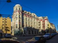 Петроградский район, улица Бармалеева, дом 2. многоквартирный дом