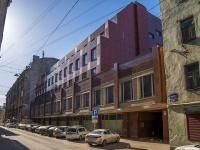 Петроградский район, улица Бармалеева, дом 8. офисное здание