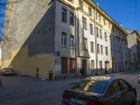 Петроградский район, улица Бармалеева, дом 9. многоквартирный дом