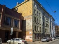 Петроградский район, улица Бармалеева, дом 10. многоквартирный дом