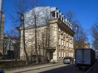 Петроградский район, улица Бармалеева, дом 11. офисное здание