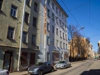 Петроградский район, улица Бармалеева, дом 12. многоквартирный дом