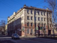Петроградский район, улица Бармалеева, дом 20. многоквартирный дом