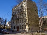 Петроградский район, улица Бармалеева, дом 21. многоквартирный дом