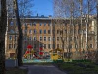 Петроградский район, улица Бармалеева, дом 24. многоквартирный дом