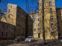 Петроградский район, улица Бармалеева, дом 26. многоквартирный дом