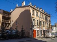 Петроградский район, улица Бармалеева, дом 15. многоквартирный дом