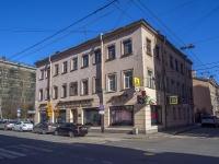 Петроградский район, улица Бармалеева, дом 17. многоквартирный дом