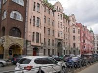 Петроградский район, улица Большая Монетная, дом 3. многоквартирный дом