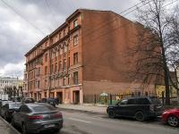 Петроградский район, улица Большая Монетная, дом 6. многоквартирный дом