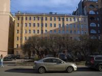 Петроградский район, улица Большая Монетная, дом 7. многоквартирный дом