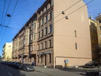 Петроградский район, улица Большая Монетная, дом 9. многоквартирный дом