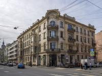 Петроградский район, улица Большая Монетная, дом 11. многоквартирный дом
