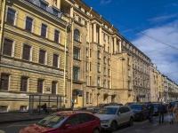 Петроградский район, улица Большая Монетная, дом 18. многоквартирный дом