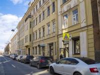 Петроградский район, улица Большая Посадская, дом 3. многоквартирный дом