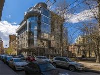 Петроградский район, улица Большая Посадская, дом 6. многоквартирный дом