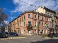 Петроградский район, улица Большая Посадская, дом 18. многоквартирный дом