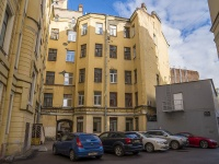 Петроградский район, улица Льва Толстого, дом 5. многоквартирный дом