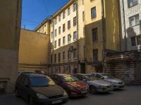 Петроградский район, улица Большая Пушкарская, дом 31. многоквартирный дом