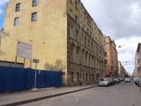Петроградский район, улица Большая Пушкарская, дом 32. многоквартирный дом