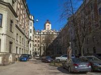 Петроградский район, улица Большая Пушкарская, дом 37. многоквартирный дом