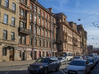 Петроградский район, улица Большая Пушкарская, дом 3. многоквартирный дом