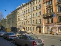 Петроградский район, улица Большая Пушкарская, дом 5. многоквартирный дом