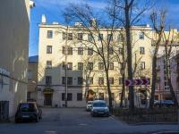 Петроградский район, улица Большая Пушкарская, дом 6. многоквартирный дом