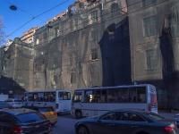 Петроградский район, улица Большая Пушкарская, дом 7. здание на реконструкции