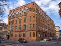 Петроградский район, улица Большая Пушкарская, дом 10. офисное здание