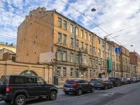 Петроградский район, улица Большая Пушкарская, дом 10 ЛИТ Б. офисное здание