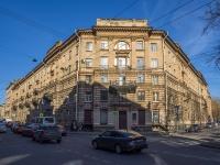 Петроградский район, улица Большая Пушкарская, дом 11. многоквартирный дом
