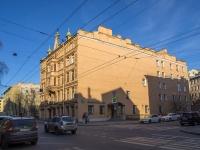 Петроградский район, улица Большая Пушкарская, дом 17. многоквартирный дом