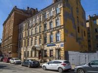 Петроградский район, улица Большая Пушкарская, дом 19. многоквартирный дом