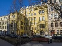 Петроградский район, улица Подковырова, дом 7. многоквартирный дом