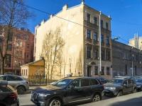 Петроградский район, улица Подковырова, дом 8. многоквартирный дом