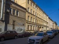 Петроградский район, улица Подковырова, дом 10. многоквартирный дом
