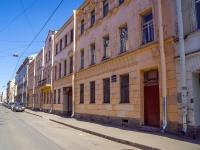 Петроградский район, улица Подковырова, дом 11-13. многоквартирный дом