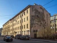 Петроградский район, улица Подковырова, дом 14. многоквартирный дом