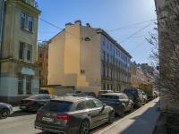 Петроградский район, улица Подковырова, дом 15-17. многоквартирный дом
