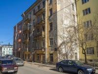 Петроградский район, улица Подковырова, дом 31. многоквартирный дом