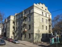 Петроградский район, улица Подковырова, дом 43А. многоквартирный дом