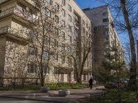 Петроградский район, Вяземский переулок, дом 6. многоквартирный дом