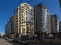 Петроградский район, улица Дивенская, дом 5. многоквартирный дом