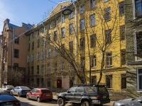 Петроградский район, улица Дивенская, дом 16. многоквартирный дом