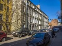 Петроградский район, улица Дивенская, дом 18. многоквартирный дом
