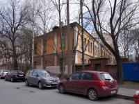 Петроградский район, улица Профессора Попова, дом 1. офисное здание