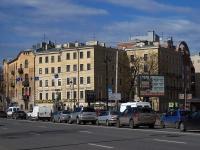 Петроградский район, Крестьянский переулок, дом 2. многоквартирный дом