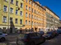 Петроградский район, улица Кропоткина, дом 15. многоквартирный дом